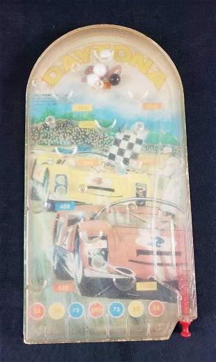 Vintage Daytona 500 Wolverine Toy Pinball Action Game