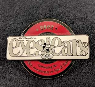 Cast Member Exclusive 2002 Eyes And Ears Pin