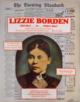 Lizzie Borden Did She Or Didnt She Newspaper Articles