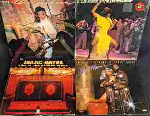 4 Millie Jackson And Isaac Hayes Vinyl LP Records