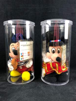 """Disney European """"French Mickey"""" and """"Beefeater Mickey"""""""