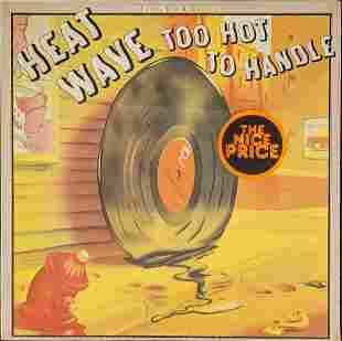Heatwave Too Hot To Handle Vinyl LP Record SEALED