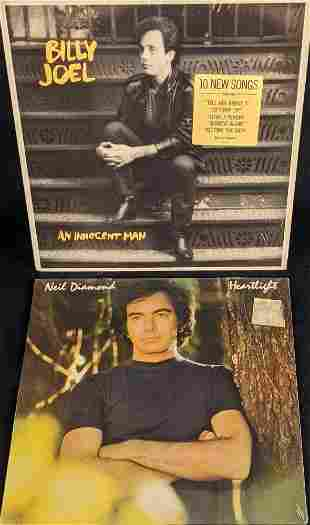 Vinyl LP Records Billy Joel Neil Diamond