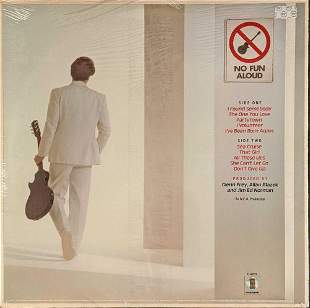 Glenn Frey No Fun Allowed Eagles Vinyl LP Record SEALED