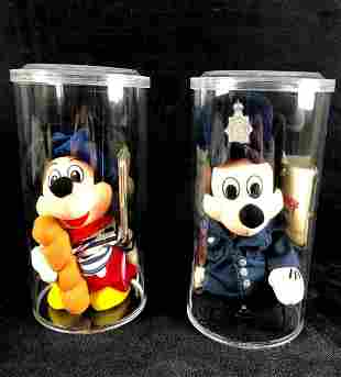 Disney Mickey Mouse French Mickey and UK Policeman Set