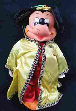 Vintage Mickey Mouse Doll by Walt Disney Productions