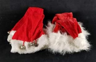 Santa Christmas Hats And Bells