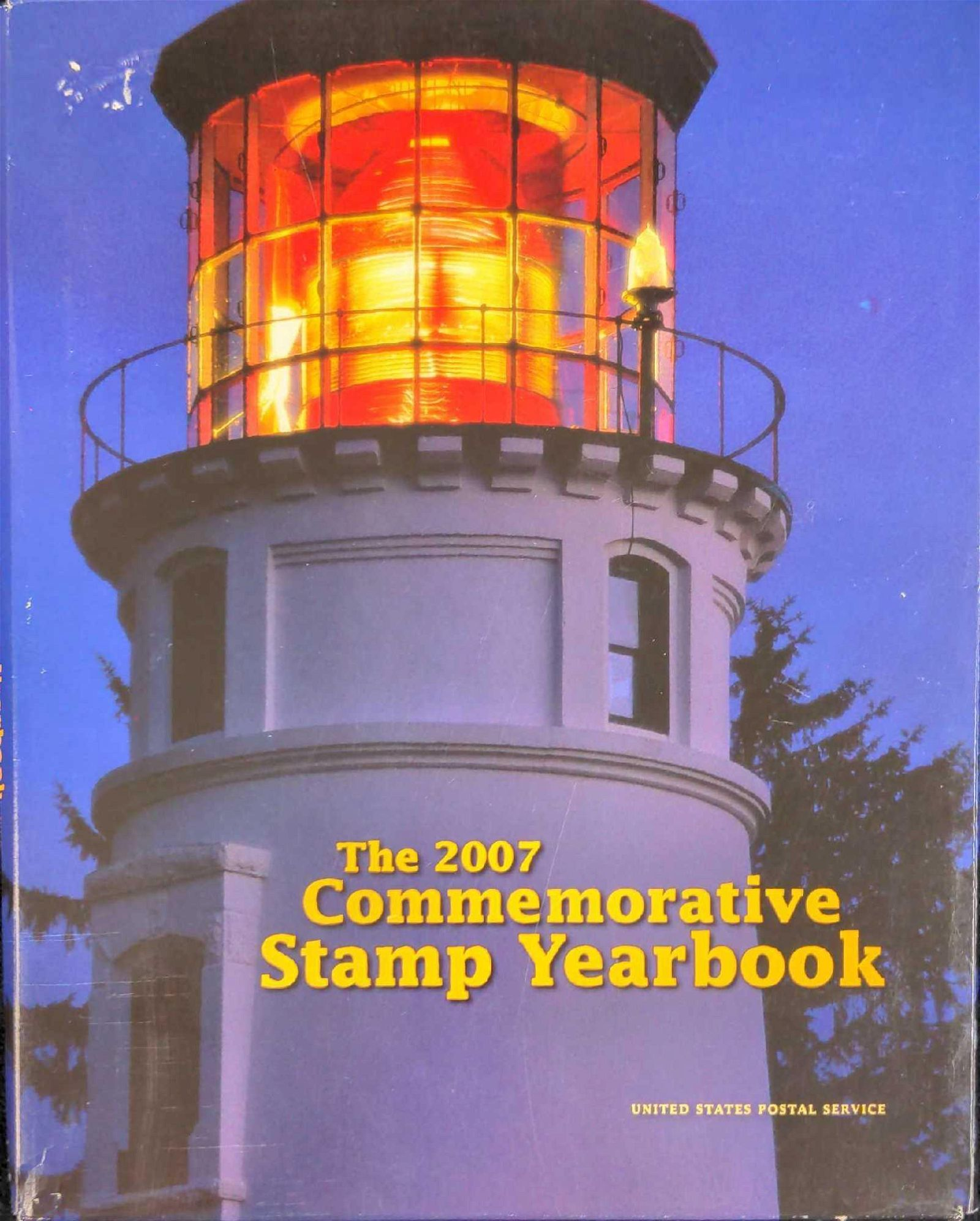 The 2007 Commemorative Stamp Yearbook US Postal Stamps