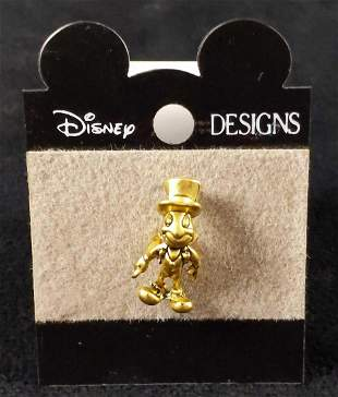 Cast Member Jiminy Cricket Environmentality Pin K