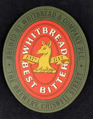 75 Whitbread Best Bitter Beer Pub Coasters