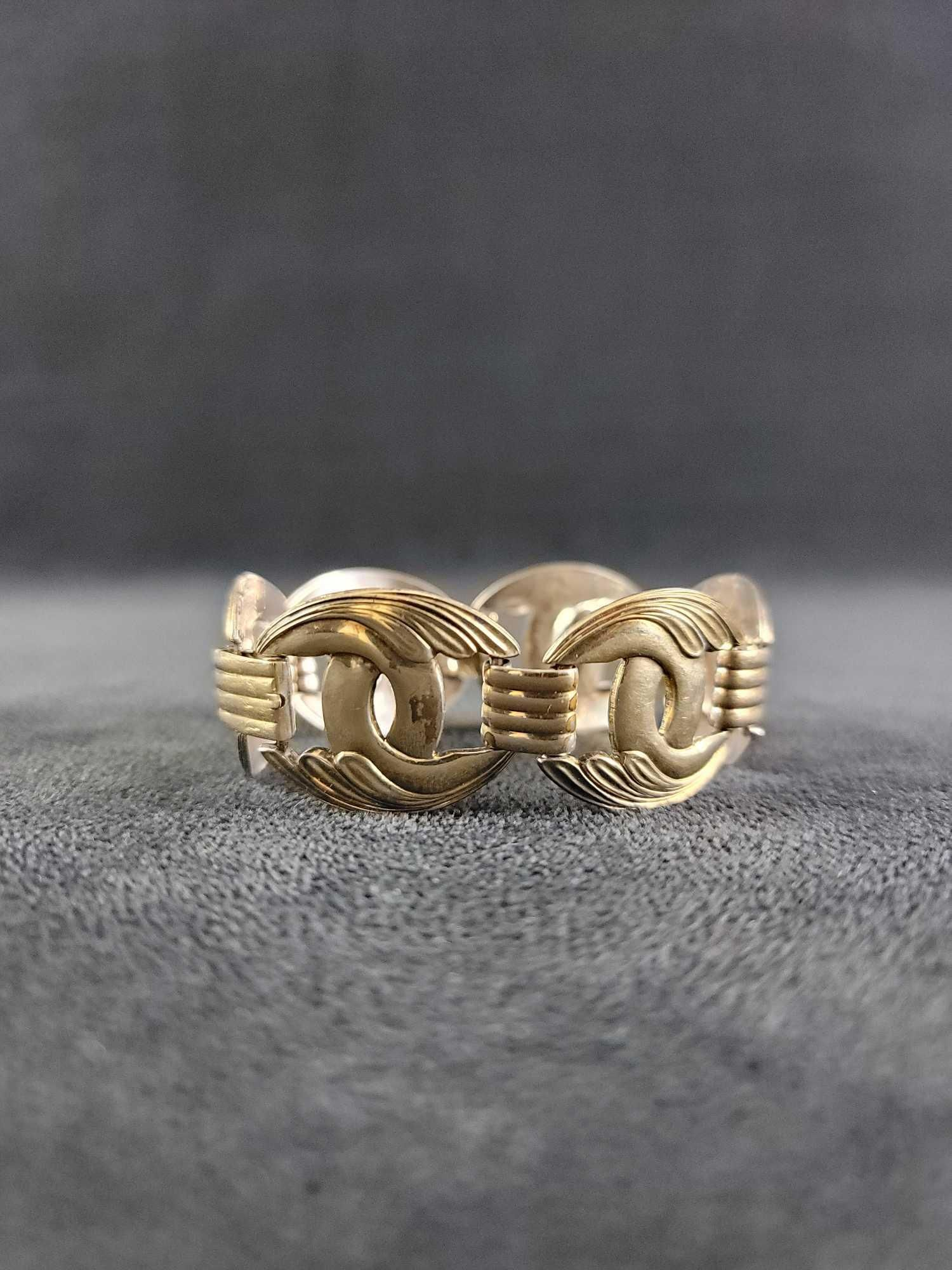 Symmetalic Sterling and 14K Gold