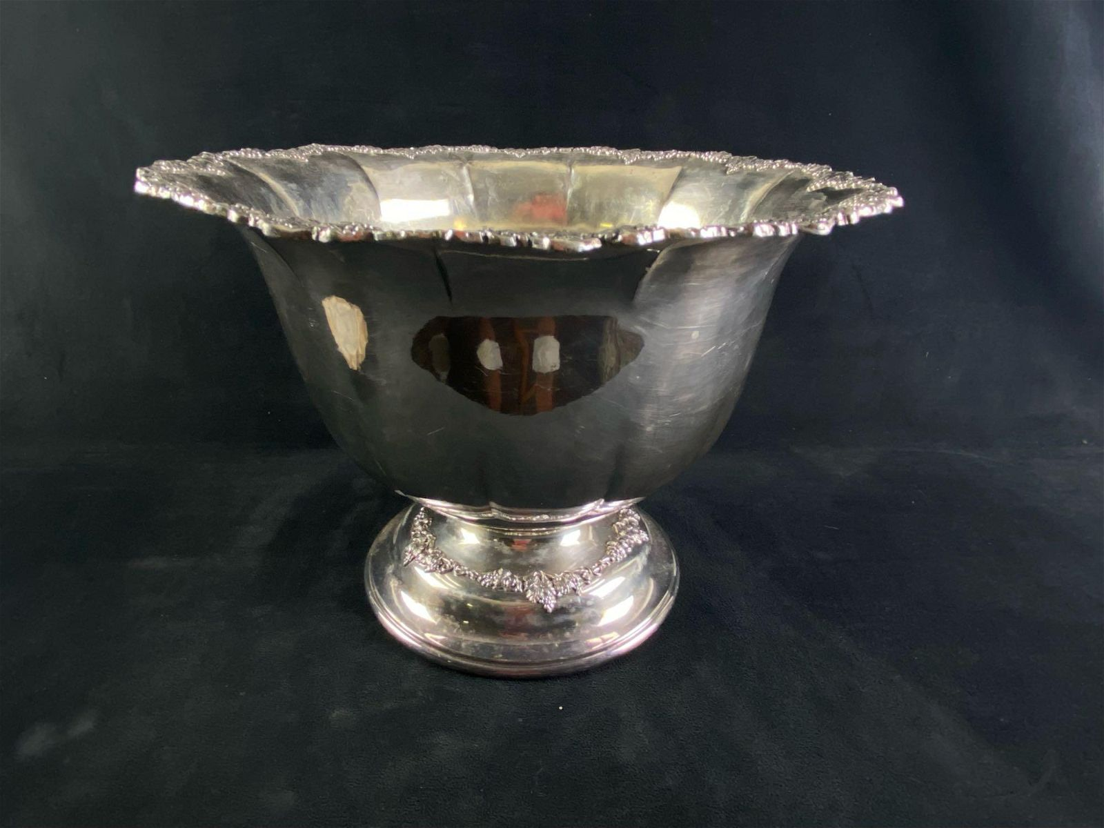 Vintage Derby S.H. Co IS 3805 Large Bowl / Award Cup