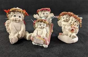 "Three Dreamciles Baby Figurines (1) ""Christmas Cutie"""