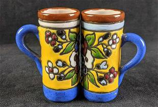 Tall Expresso Cups Handmade and Glazed