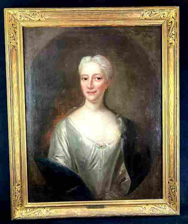 Original William R. Owen Oil Painting of Madame