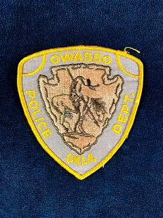 Owasso Police Department Oklahoma Police Patch