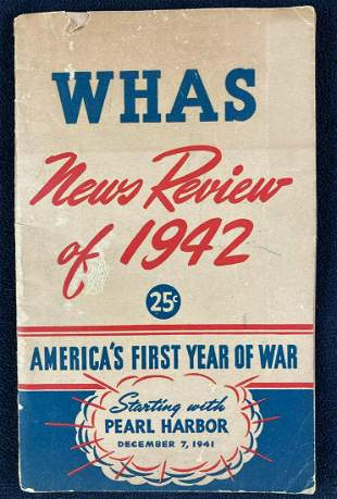 WHAS News Review of 1942: America's First Year of War