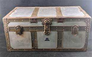 Vintage Military KOWA Aluminum Locker Trunk
