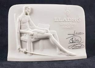 Lladro Collectors Society Plaque