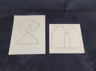 Peter Bodnar Lithograph Lot of 2