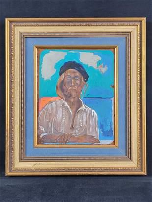 Original Self Portrait by Steve Counselman