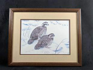 Limited Edition Lithograph By Nancy Shumaker Pallan