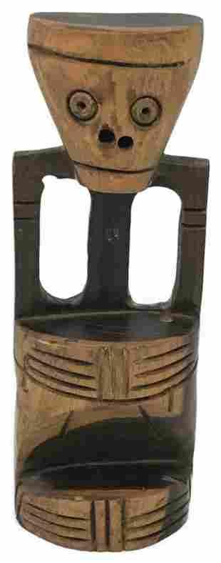 Small Carved Hardwood Figure