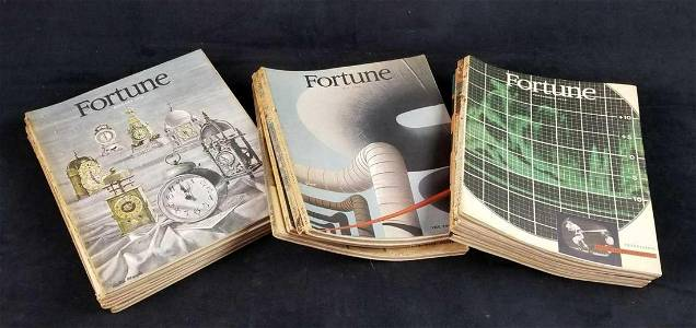 Fortune Magazines 1948 With Index