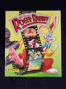 Disney Who Framed Roger Rabbit Sticker Book 1988