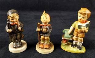 2 Vintage Goebel Hummel Figurines And 1 Imitation