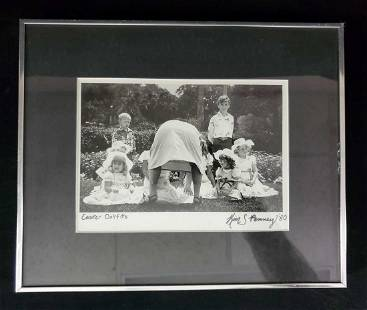 Signed Humor Black And White Photo Kim S Penney