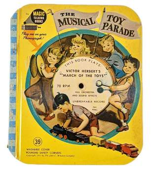 Vintage The Musical Toy Parade Magic Talking Record