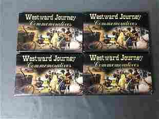 Westward Journey Commemorative Nickles Platinum P D
