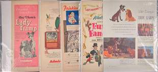 Vintage Disney Lady And The Tramp Peter Pan