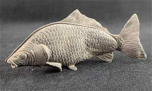 Vintage Silverplated Modello Depositato Fish Napkin