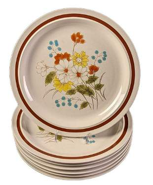 Seven Early Summer by Four Seasons Dinner Plates