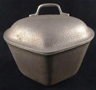 Vintage Silver Seal Aluminum Dutch Oven Pot B