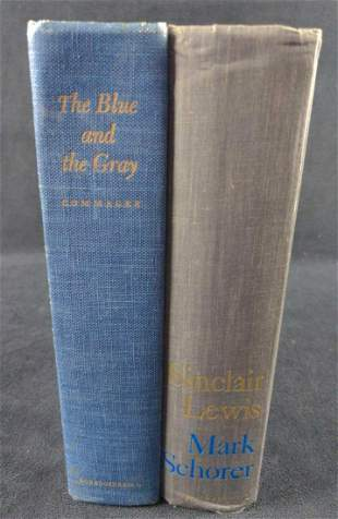 A American Life And The Blue And The Gray Hardcovers