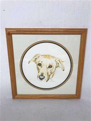 Original Pen and Ink Artwork, Animal Portraiture,