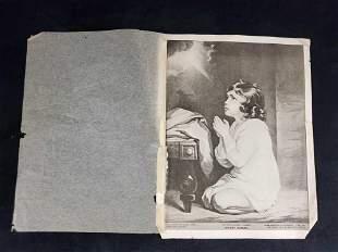 Vintage The Infant Samuel By Joshua Reynolds Print