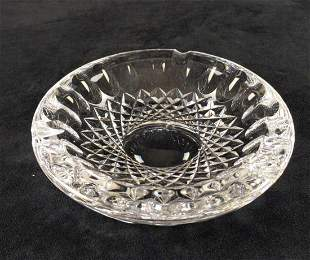 Vintage Waterford Crystal Ashtray Colleen Pattern