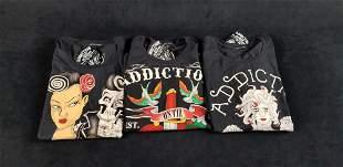 Geniune Addiction Motorcycle Clothing Lot P