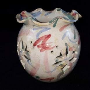 Handmade Ceramic Candle Jar