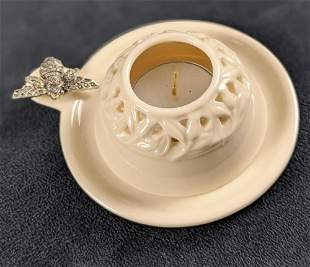 Seagull Pewter Bee Porcelain Tea Candle