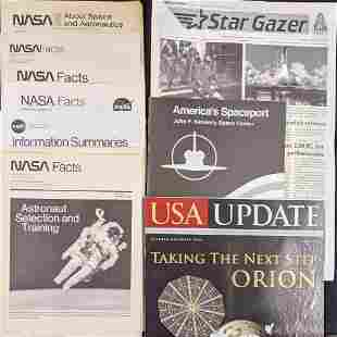 NASA Facts JFK Space Center Booklet And More