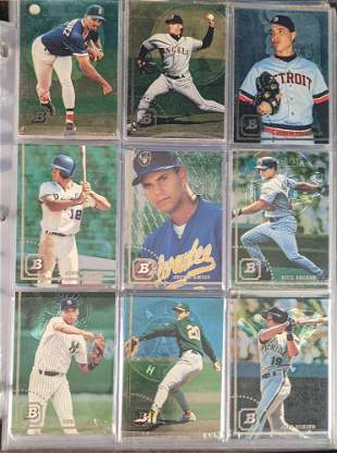 500 to 700 1994 Upper Deck Bowman Baseball Cards