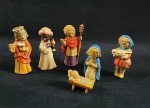 ANRI Toriart Italian Handcrafted Nativity Figures