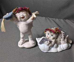"""Two Dreamsicles Figurines (1) """"Graduation Day"""" (2)"""