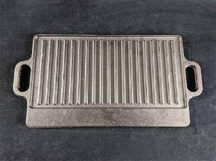 Cast Iron Grilling Pan Cast Iron Grill Plate