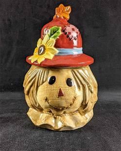 Scarecrow Cookie Jar by David's Cookies